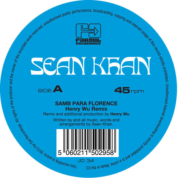 Sean Khan - Samba Para Florence/Things To Say (Henry Wu & Ben Hauke Remixes) [2015]