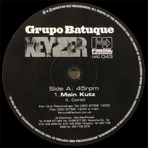 Grupo Batuque - Keyzer (Kenny Dope Remixes) [2001]