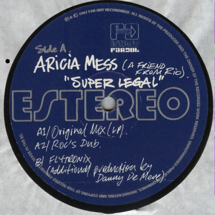 Aricia Mess - Super Legal [1997]
