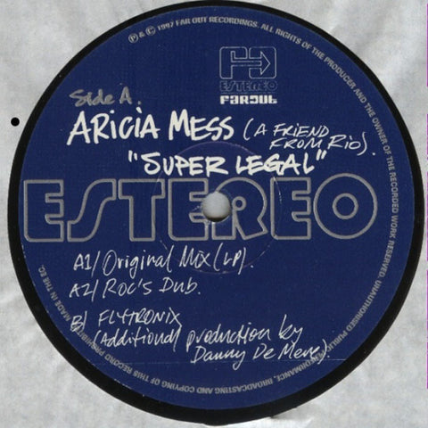 Aricia Mess - Super Legal