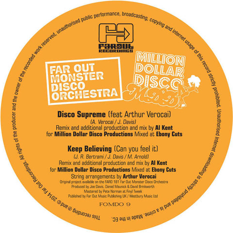 Far Out Monster Disco Orchestra - Disco Supreme (Al Kent Edit)