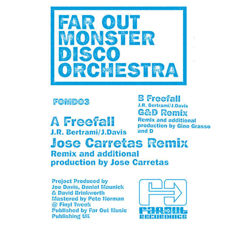 Far Out Monster Disco Orchestra - Freefall (Remixes)
