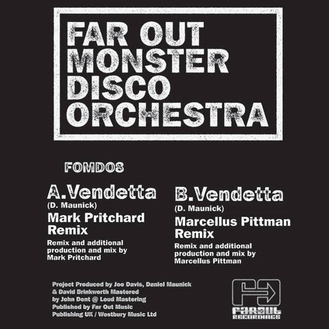Far Out Monster Disco Orchestra - Vendetta (Remixes) [2013]