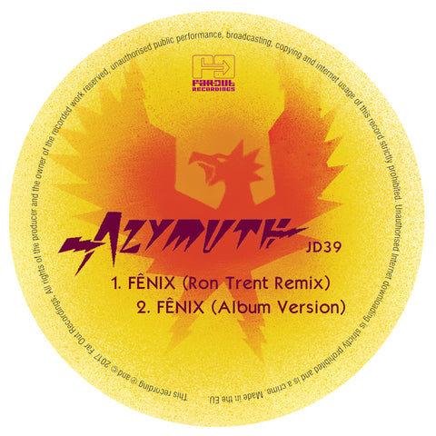 Azymuth - Fênix (Ron Trent Remix) [2017]
