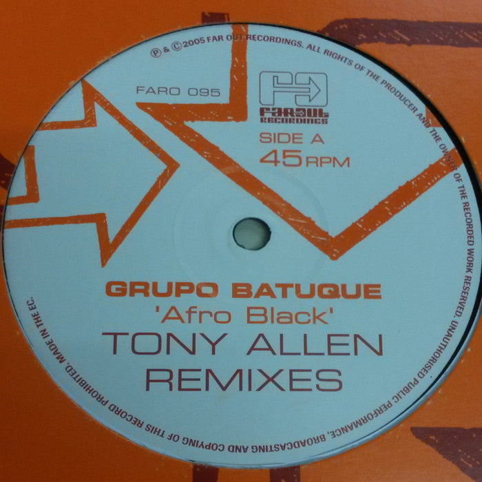 Grupo Batuque - Afro Black (Tony Allen Remixes)