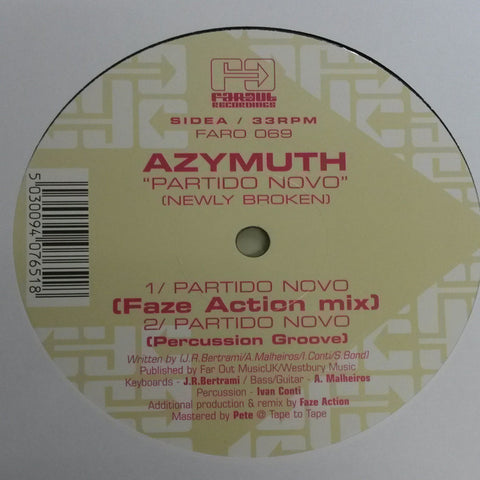Azymuth - Partido Novo (Faze Action Remixes)
