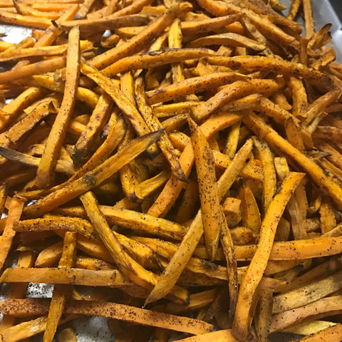 Sweet Pot Fries