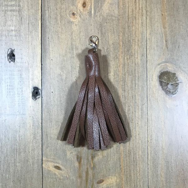Brown Tassel Fob