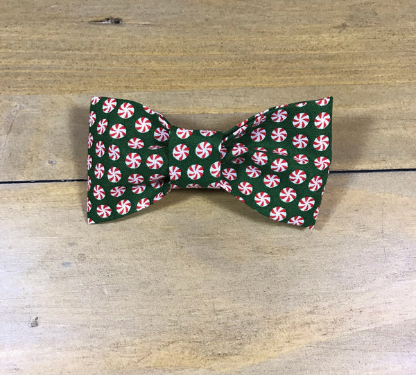 Peppermint Dot Bow