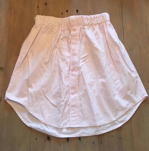 Pink Oxford Skirt