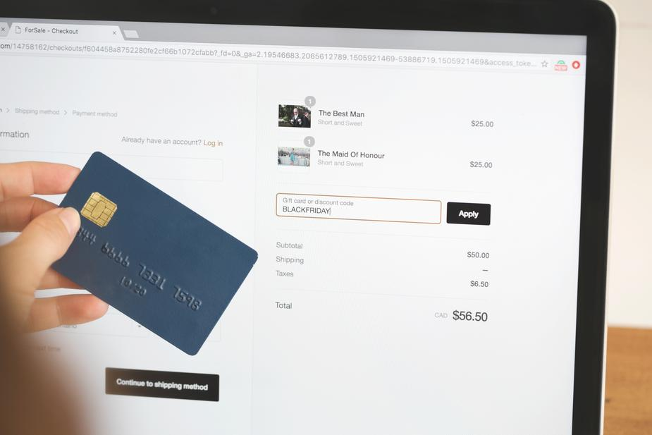 Secure online payment - The Fashion Gift Shop
