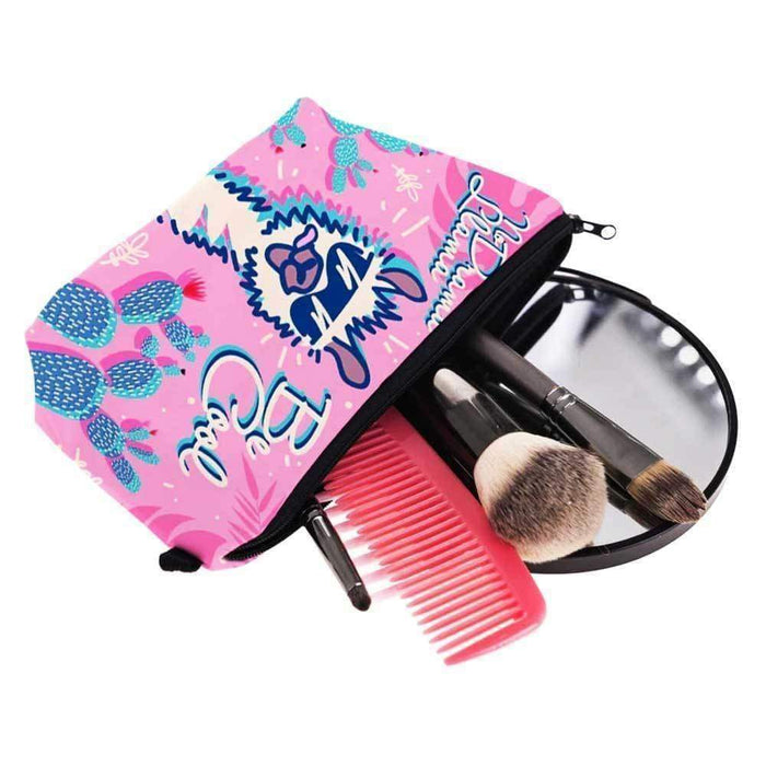 Llama Cosmetic Bags - No Drama Llama - The Fashion Gift Shop