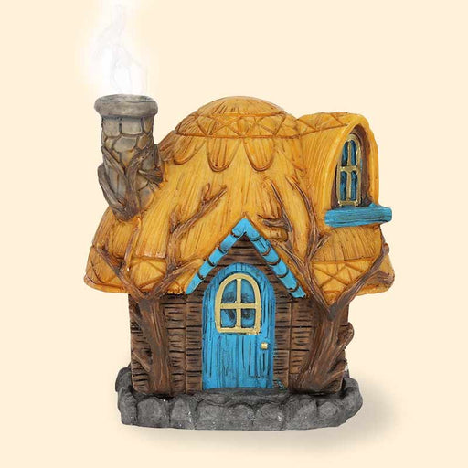 Fairy Home's Cottage Incense Cone Burner by Lisa Parker - The Fashion Gift Shop