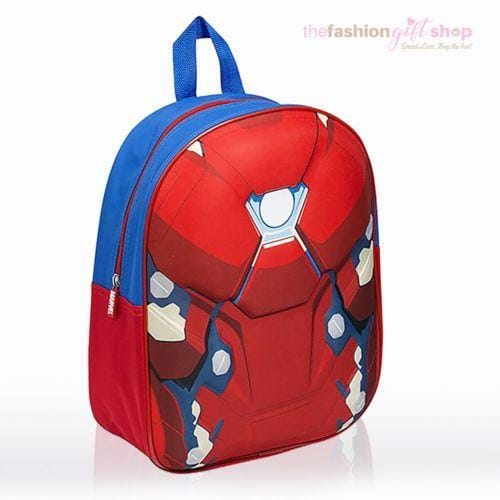Captain America Official Backpack Marvels Civil War Avengers - Gift Shop UK
