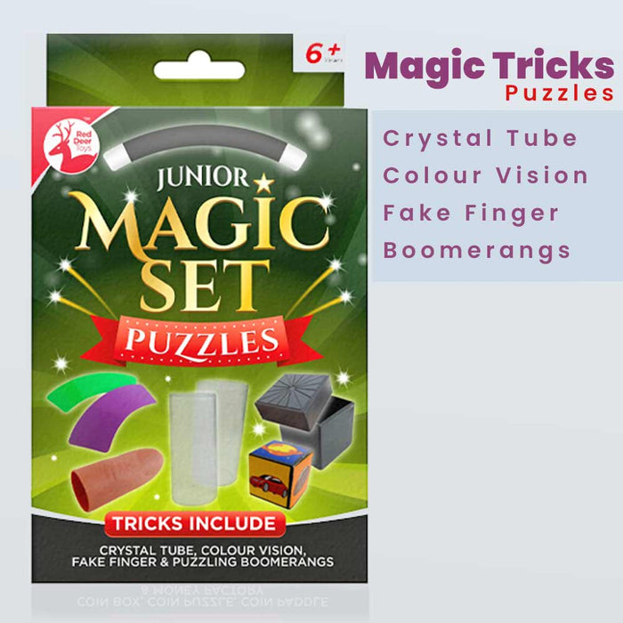 Children's Magic Sets Coins Classic Puzzles Xmas Gifts - Gift Shop UK