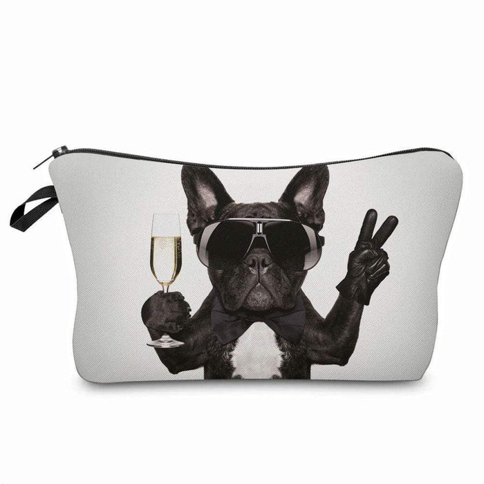 Cool Terrier Dog Cosmetic Makeup Brush Holder Bags - Pencil Case