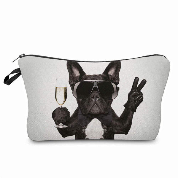 Cool Terrier Dog Cosmetic Makeup Brush Holder Bags - Pencil Case - The Fashion Gift Shop Ltd