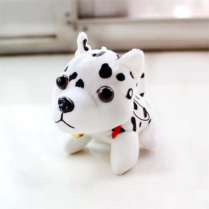 Cute Dalmatian Spotty Dog Plush Soft Toy Car Mirror Toy - The Fashion Gift Shop Ltd