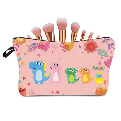 Cute Girls Boys Dinosaur 🦕 Pencil Cases Women's Makeup Cosmetic Bag - The Fashion Gift Shop Ltd
