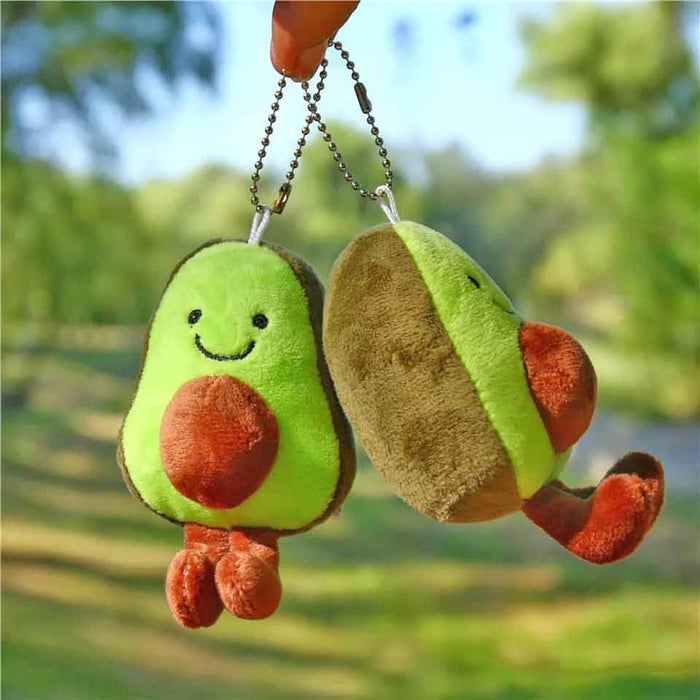 Cute Plush Soft Avocado Fruit Keyring Gifts - Gift Shop UK
