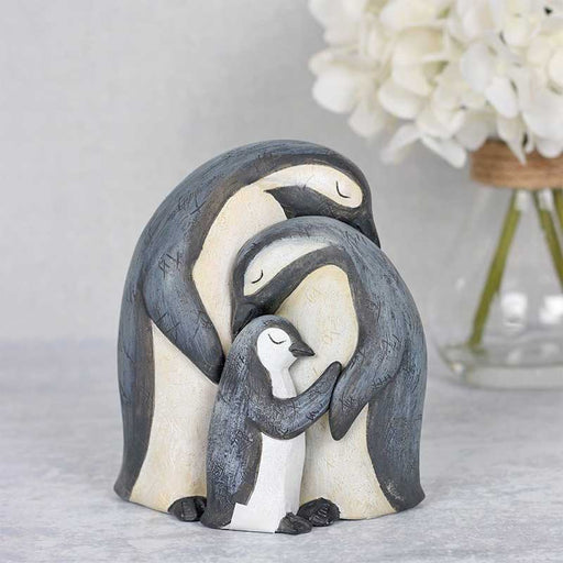 Family of Penguins Huddled Together - Gift Shop UK