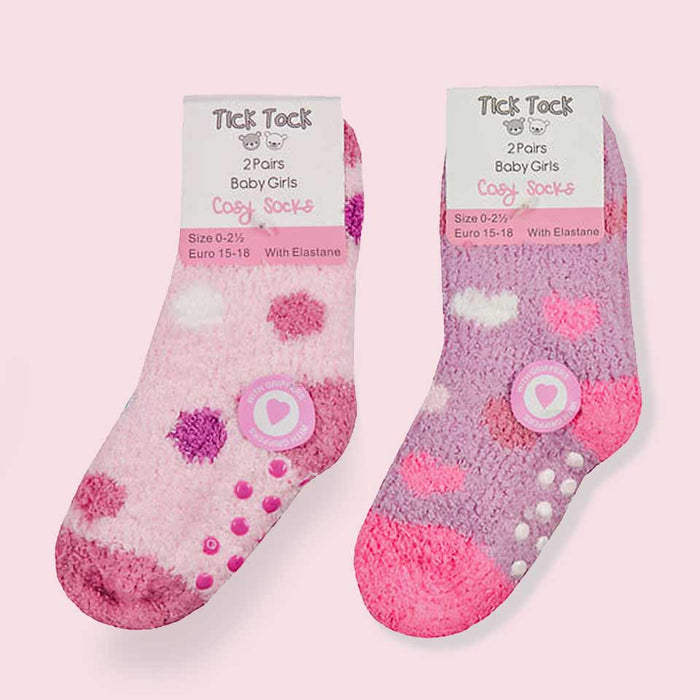 Fluffy Baby Slipper Socks Newborn to 24 Months - Gift Shop UK