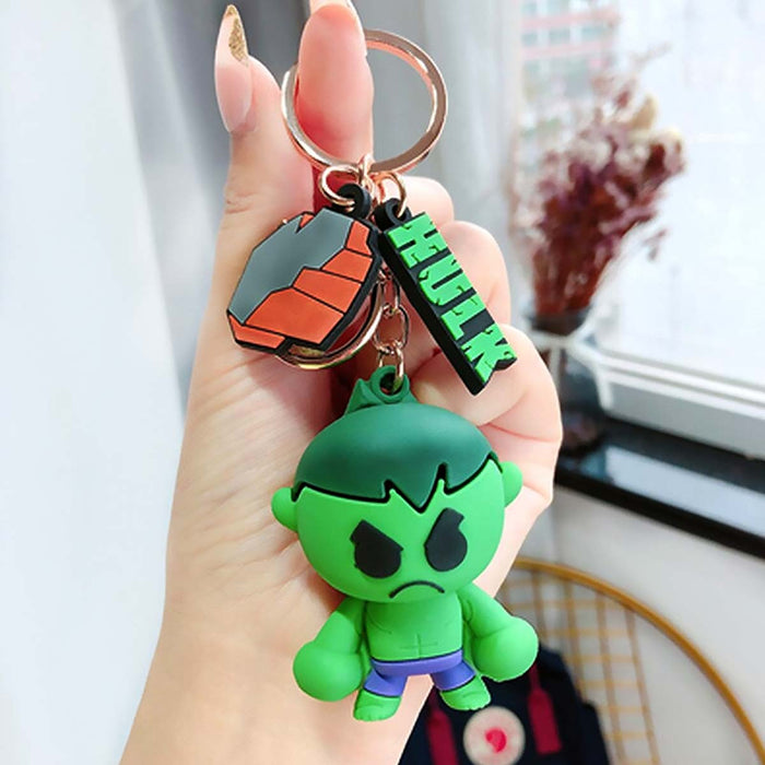 Hulk Smash 3D Keyring Backpack Charm Marvel Avengers Movie - The Fashion Gift Shop