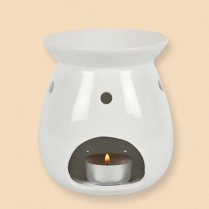 Mothers Day Candle Wax Melt Oil Burner with Floral Bee Print - The Fashion Gift Shop