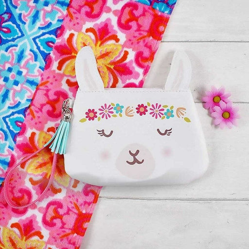 Llama Girls Colourful Purse with Charm Handle - The Fashion Gift Shop