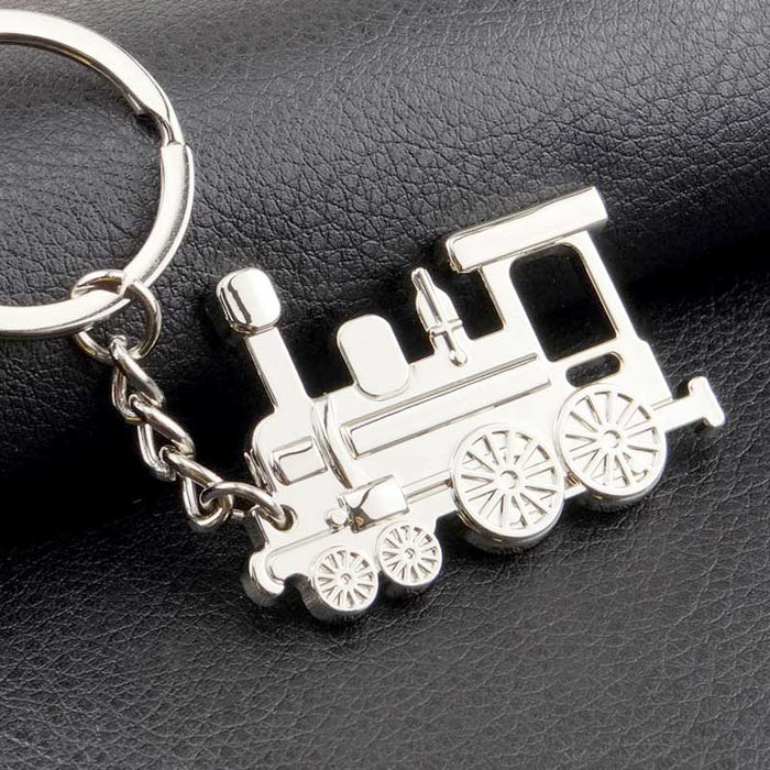 Men's Collectable Train Locomotive Keyring Gift - Gift Shop UK