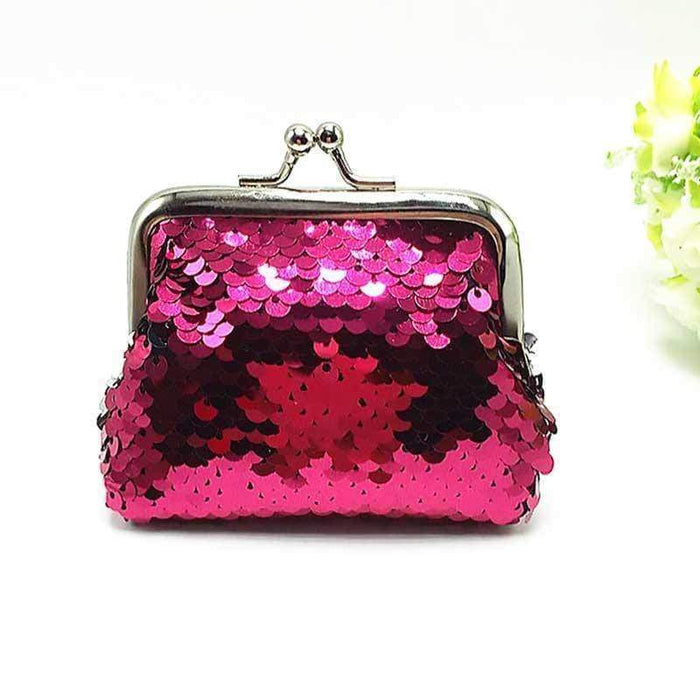 Mermaid Inspired Reversible Sequin Coin Purses - The Fashion Gift Shop Ltd