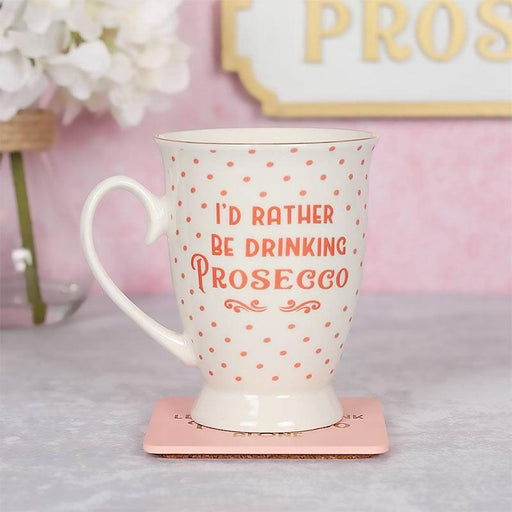 I'd Rather Be Drinking Prosecco - Novelty Mug For Prosecco-lover - The Fashion Gift Shop