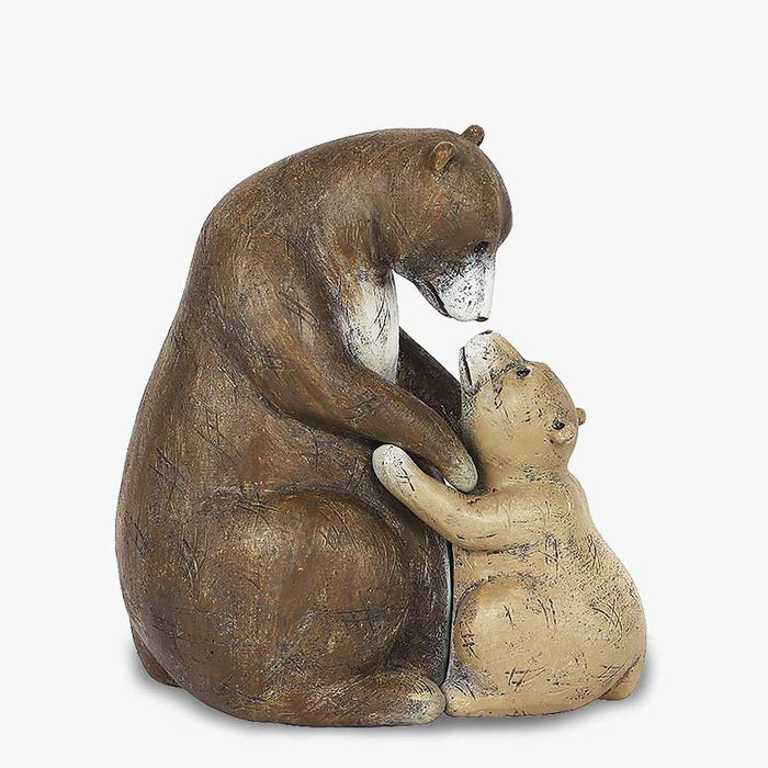 Mummy and Baby Bear Mothers Day Ornament - I Love You Beary Much - Gift Shop UK