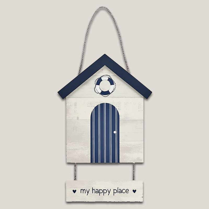 My Happy Place Hanging Plague Seaside Gifts - Gift Shop UK