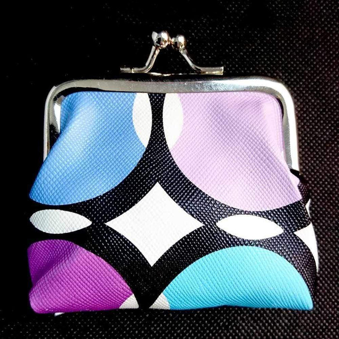 New Girls Ladies Retro Print Coin Purses Small Wallet Party Favours Secret Santa - The Fashion Gift Shop Ltd