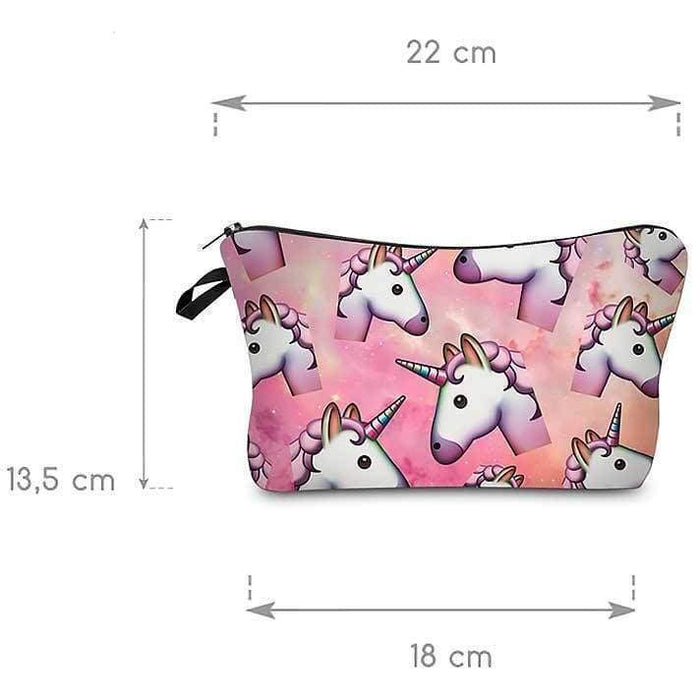 Girls Unicorn Cosmetic Bags Make Up Purse - The Fashion Gift Shop