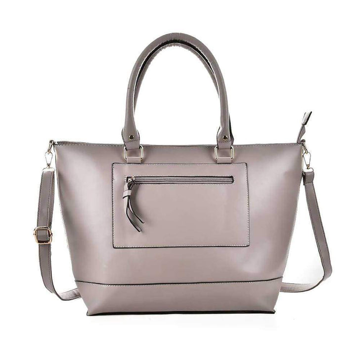 New High Quality Ladies Large Handbag Faux Leather Shoulder Bag Tote - Gift Shop UK