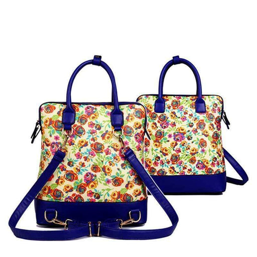 New Large Floral Rucksack High Quality Bag Shopper Backpack Shoulder - Gift Shop UK