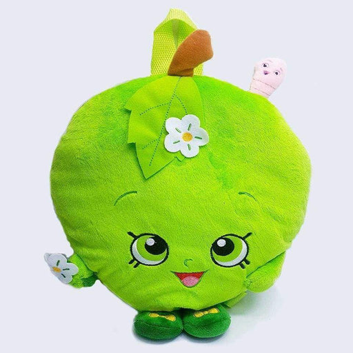 New Plush Shopkins Bag Apple Blossom Childrens Saftey Backpack Pillow Cushion - Gift Shop UK