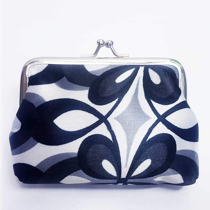 New Satin Girls Coin Purse Clutch Money Pouch Retro Stylish Wallet - The Fashion Gift Shop Ltd