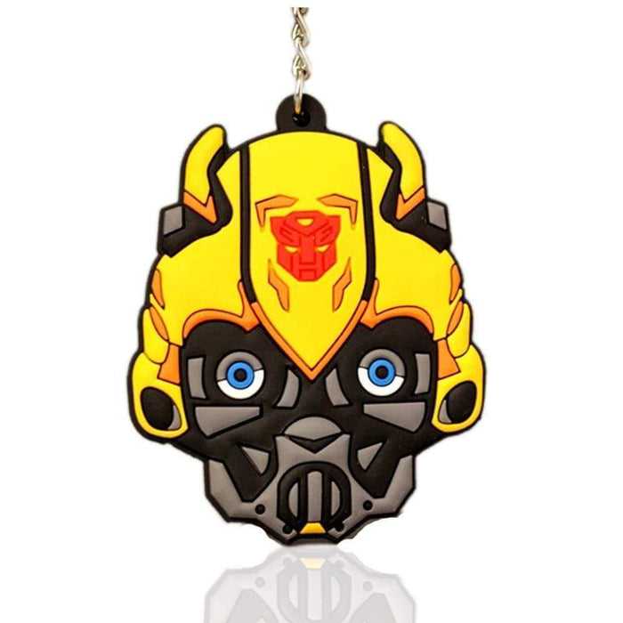 New Transformer Bubble Bee High Quality Double sided Large Yellow Keyring - Gift Shop UK