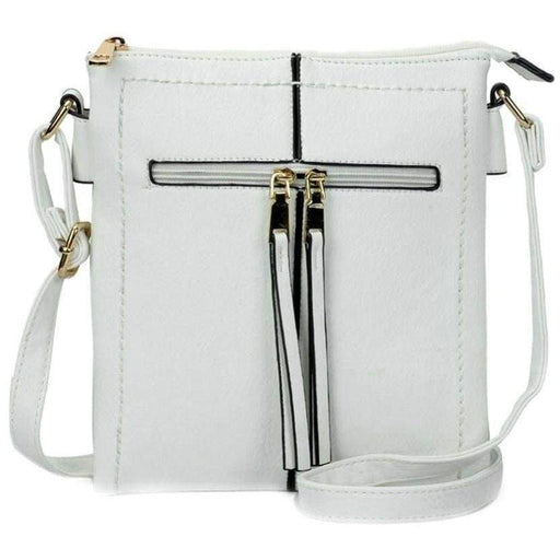 New Womens Cross body Shoulder Bag High Quality PU Leather Ladies Handbags - The Fashion Gift Shop Ltd