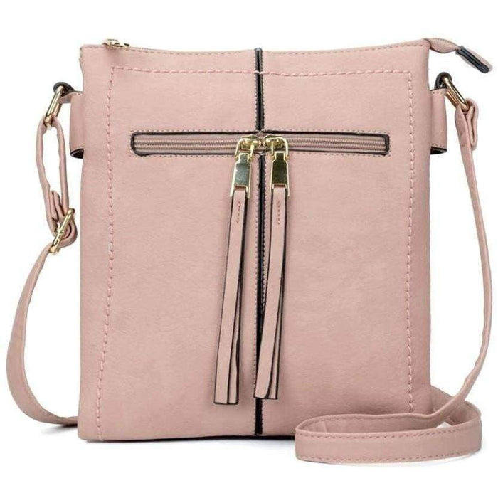 New Womens Cross body Shoulder Bag High Quality PU Leather Ladies Handbags - Gift Shop UK