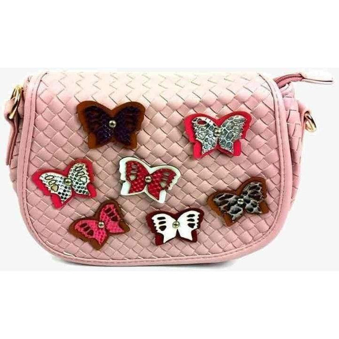 New Womens Girls Quality Butterfly Shoulder Bag Small Ladies Handbag - Gift Shop UK