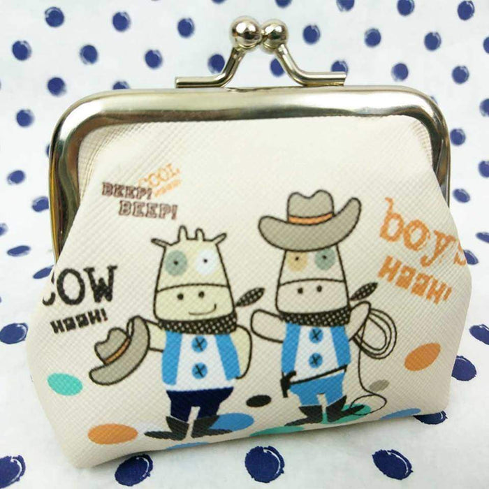 Novelty Small Coin Purse Change Wallet Rabbit Cowboys Kids Gift - The Fashion Gift Shop Ltd