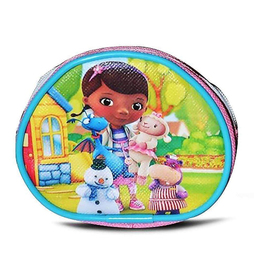 Official Doc McStuffins Coin Purse Pink Childs Dinner Money School Wallet - The Fashion Gift Shop Ltd