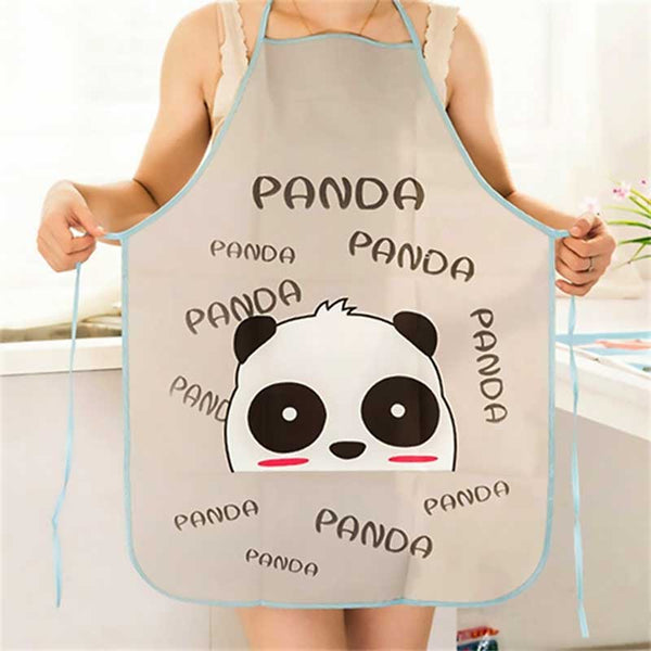 Cartoon Panda Bear - Bunny Rabbit - Elephant Waterproof Apron