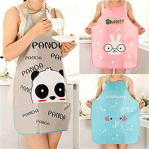 Cartoon Panda Bear - Bunny Rabbit - Elephant Waterproof Apron - The Fashion Gift Shop Ltd