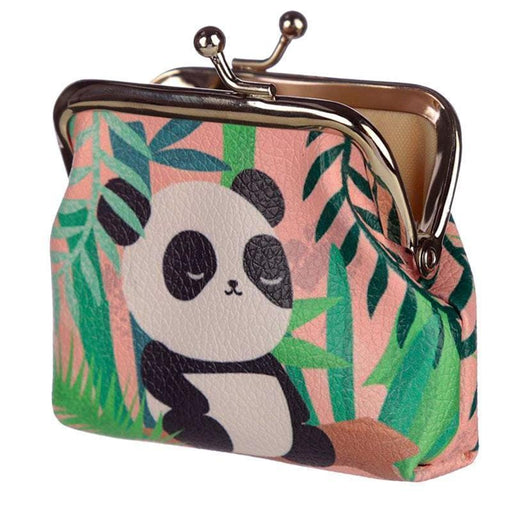 Pandarama Panda Bear Coin Purse Tic Tac Pink or Green - The Fashion Gift Shop Ltd