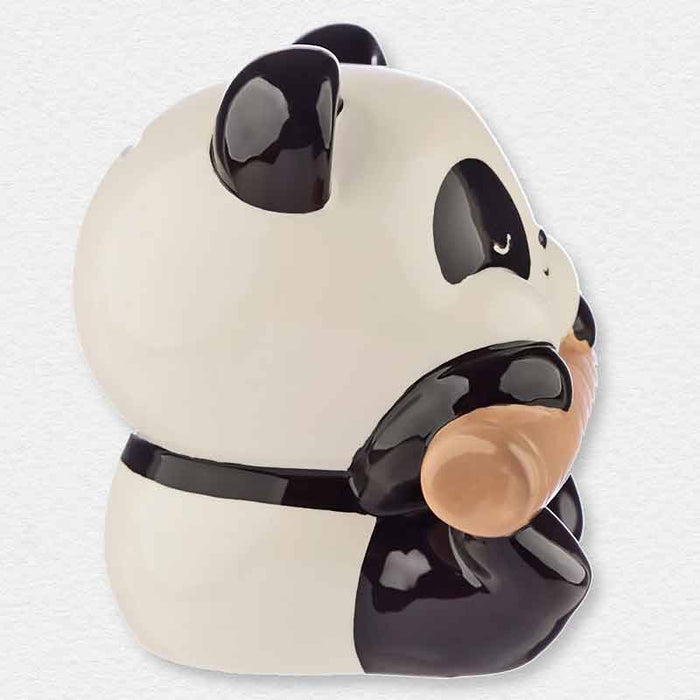 Pandarama Panda on Branch Money Box with Gift Box - The Fashion Gift Shop